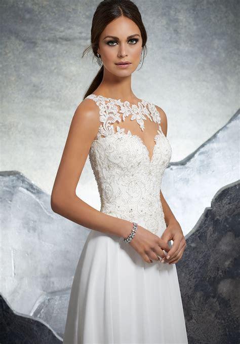 Keisha Wedding Dress   Style 5606   Morilee