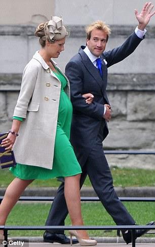 Ben Fogle and Marina Fogle arrive