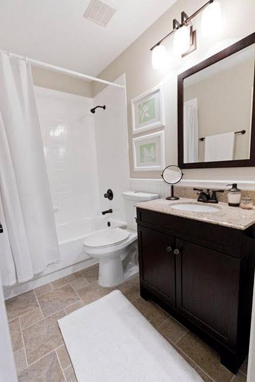 21 Fantastic Bathroom  Design Brown  Tiles  eyagci com
