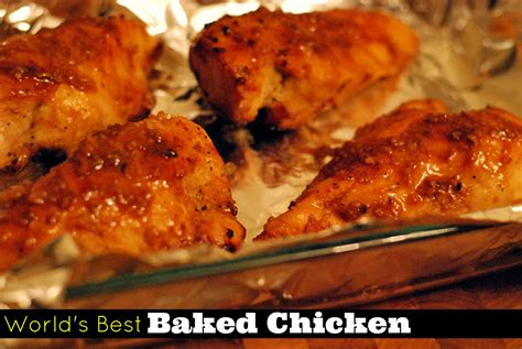 worlds  baked chicken aunt bees recipes