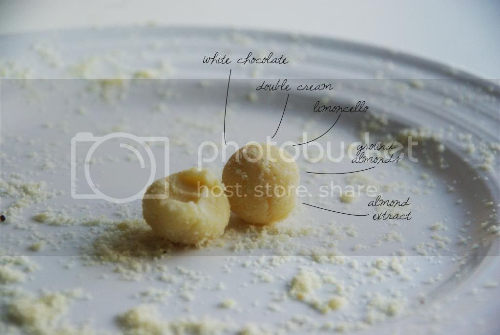 Happy Belly White Chocolate Limoncello And Almond Truffles
