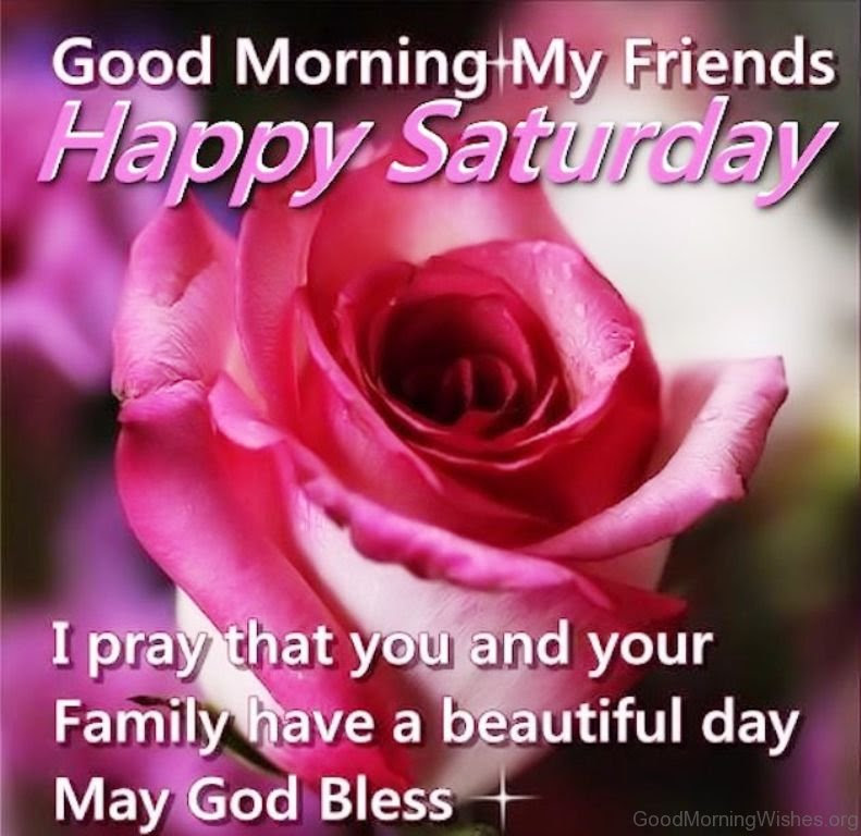 50+ Great Good Morning Saturday God