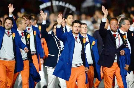 9. Netherlands e1343828903272 Top 10 Best Olympic Uniforms 2012
