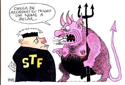 Resultado de imagem para charges sobre a soltura de presos pelo stf