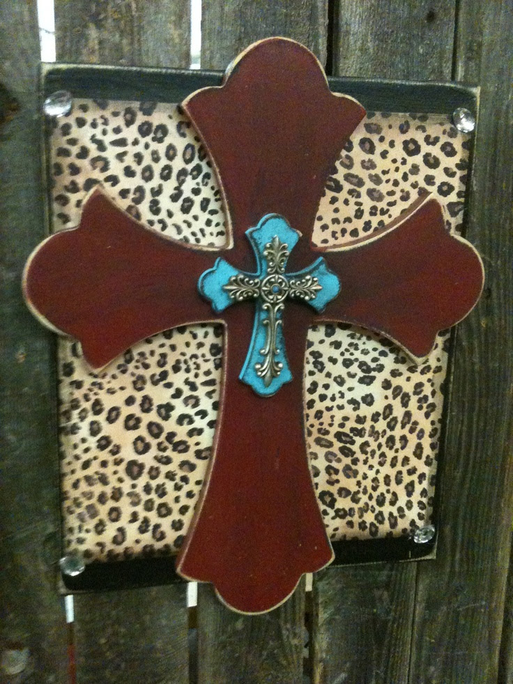 decorative wooden crosses | Wooden Stacked Cross Plaque - Hanging Wall Cross - Cross Home Decor ...