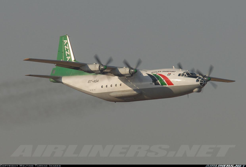 "Azza Air Transport Antonov AN-12 ""ST-ASA"""