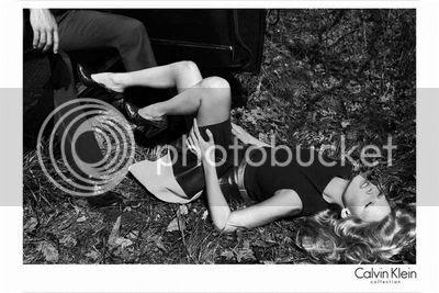 Lara Stone for Calvin Klein's Fall 2012 Campaign