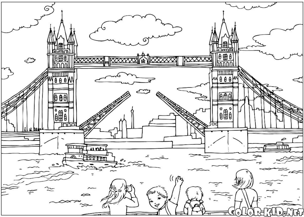Boyama Sayfası Londra Köprüsü