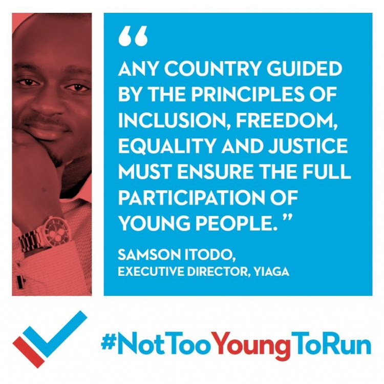 Launching Global Campaign Promoting The Right Of Young People To Run