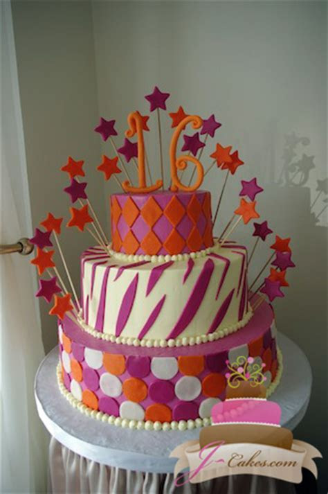 Sweet Sixteen and Quinceañera Cakes   JCakes