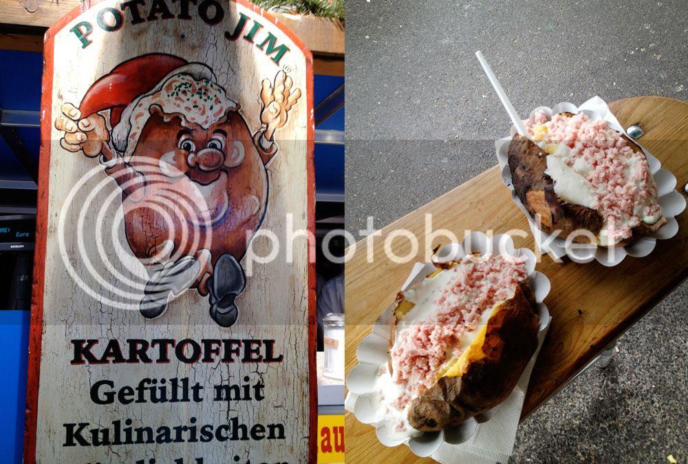 Christkindlmarkt in Vienna food