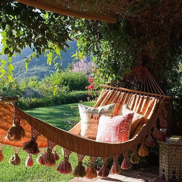 hammocks are the best.