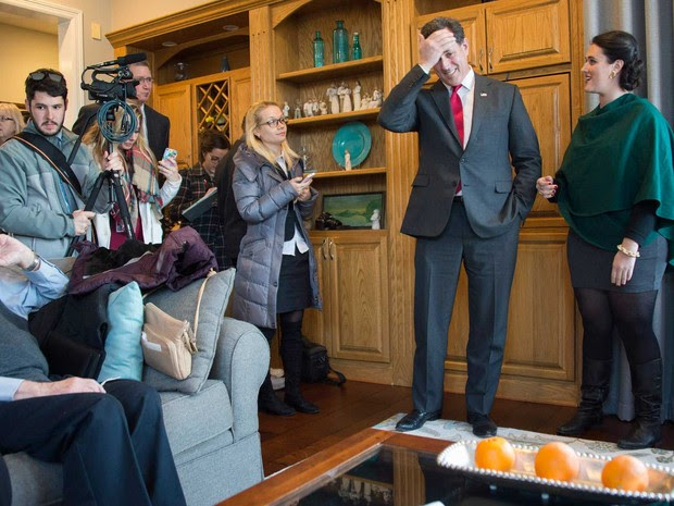O ex-senador pela Pensilvânia Rick Santorum (Foto: Jim Watson / AFP)