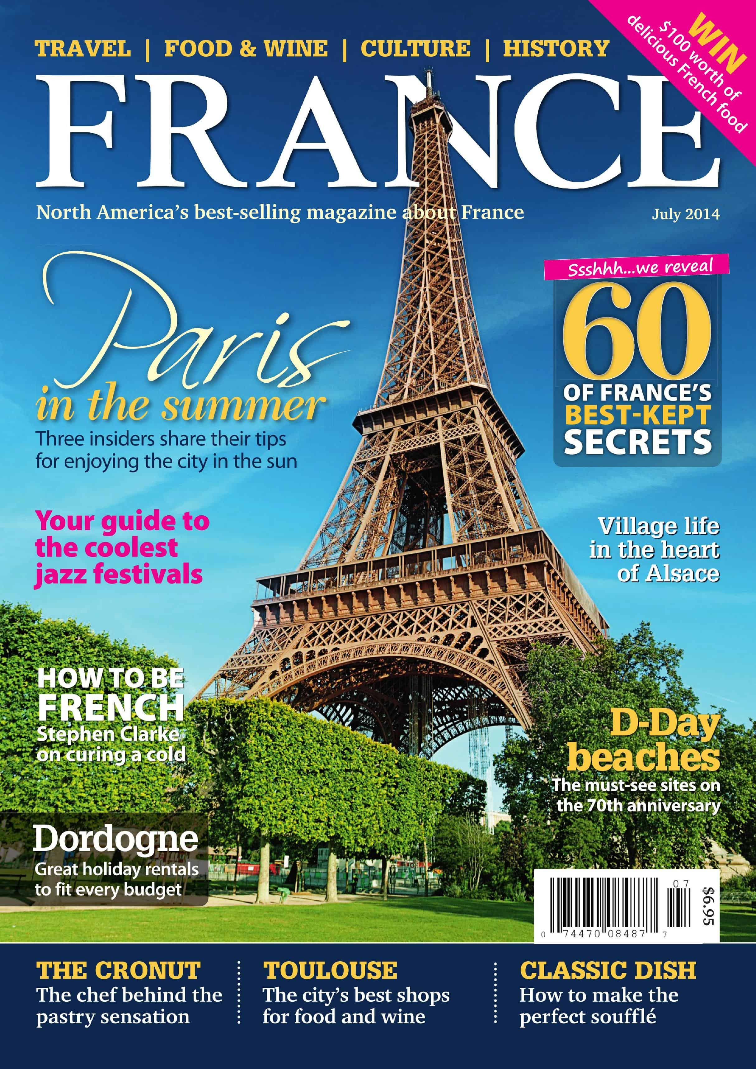 Oui In France I'm featured in FRANCE Magazine