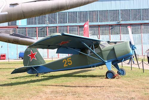 Yakovlev Yak-12 25 yellow