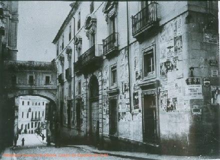 Arco de Palacio en 1936
