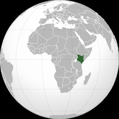 Localização  República do Quênia