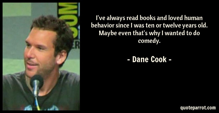 Ive Always Read Books And Loved Human Behavior Since I By Dane