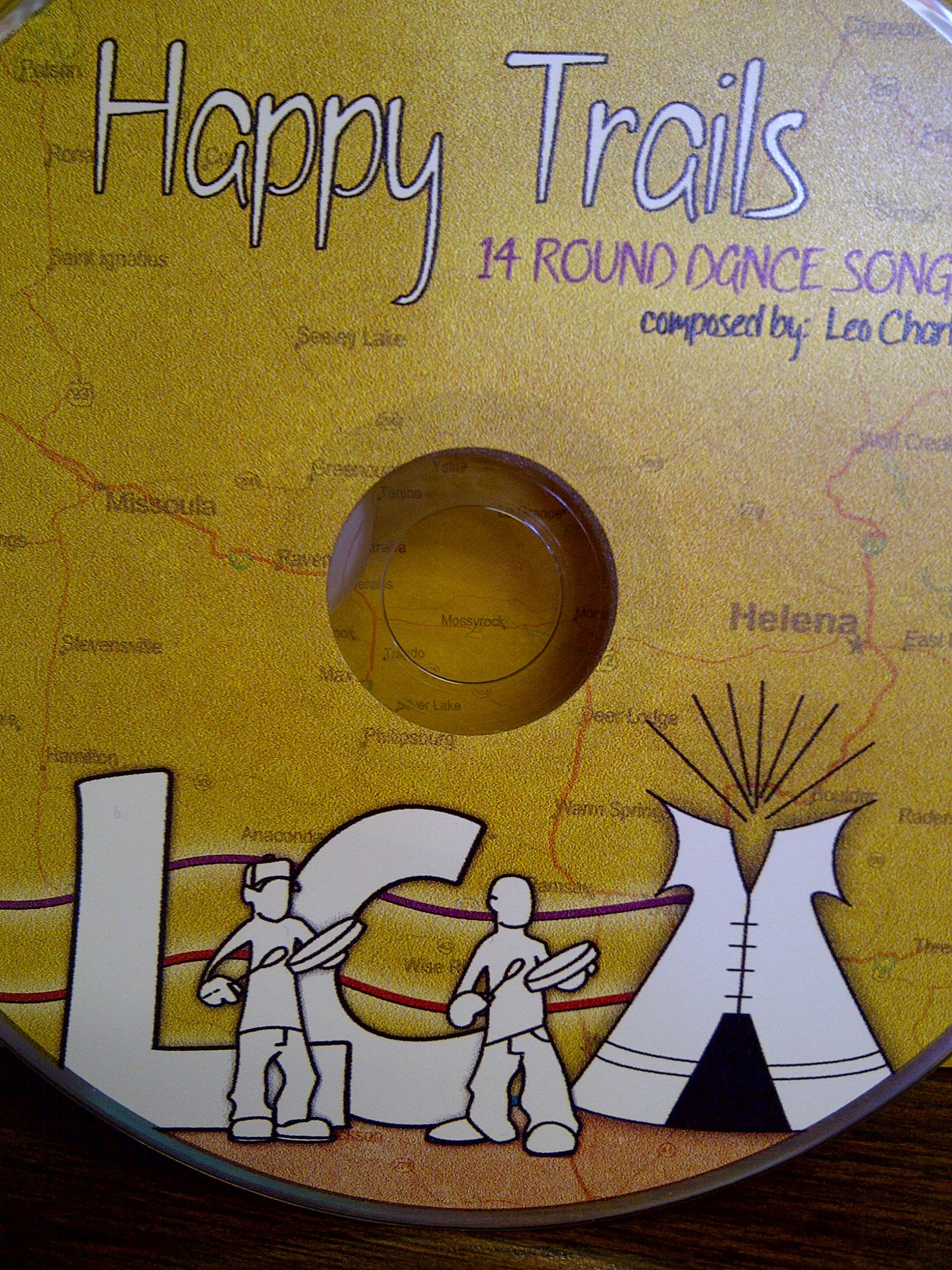 """""""Happy Trails"""" Roundance Songs by Leo Charlie, FRIDAY ..."""