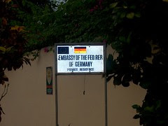 East German Embassy Ghana