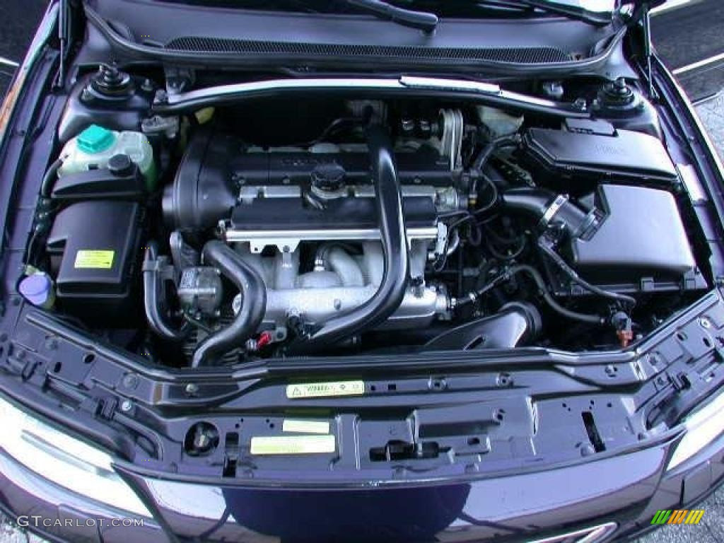2004 Volvo S60 25t Engine