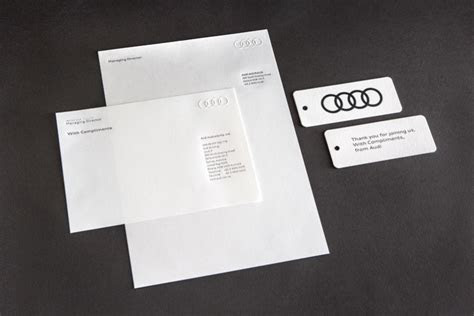 Audi Stationery ? The Distillery