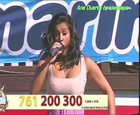 Ana Duarte a sensual cantora portuguesa em 3 vídeos