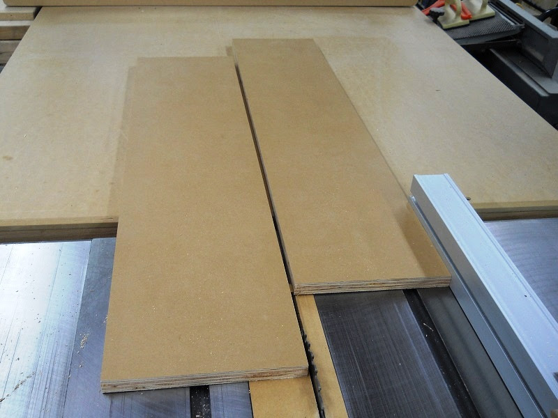 cut the right door 3/8″ wider than half of the casing.
