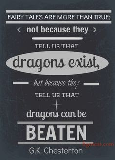 dragons can be beaten