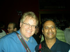 Gnomedex Seattle Robert Scoble and ShashiB