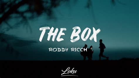 roddy ricch  box lyrics mp  mp