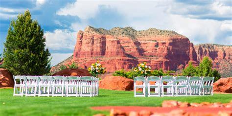 sedona golf resort weddings  prices  wedding