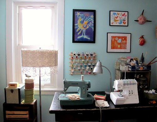 sewing wall