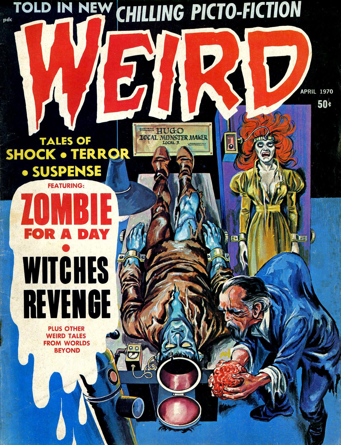 Weird Vol. 04 #2 (Eerie Publications, 1970)