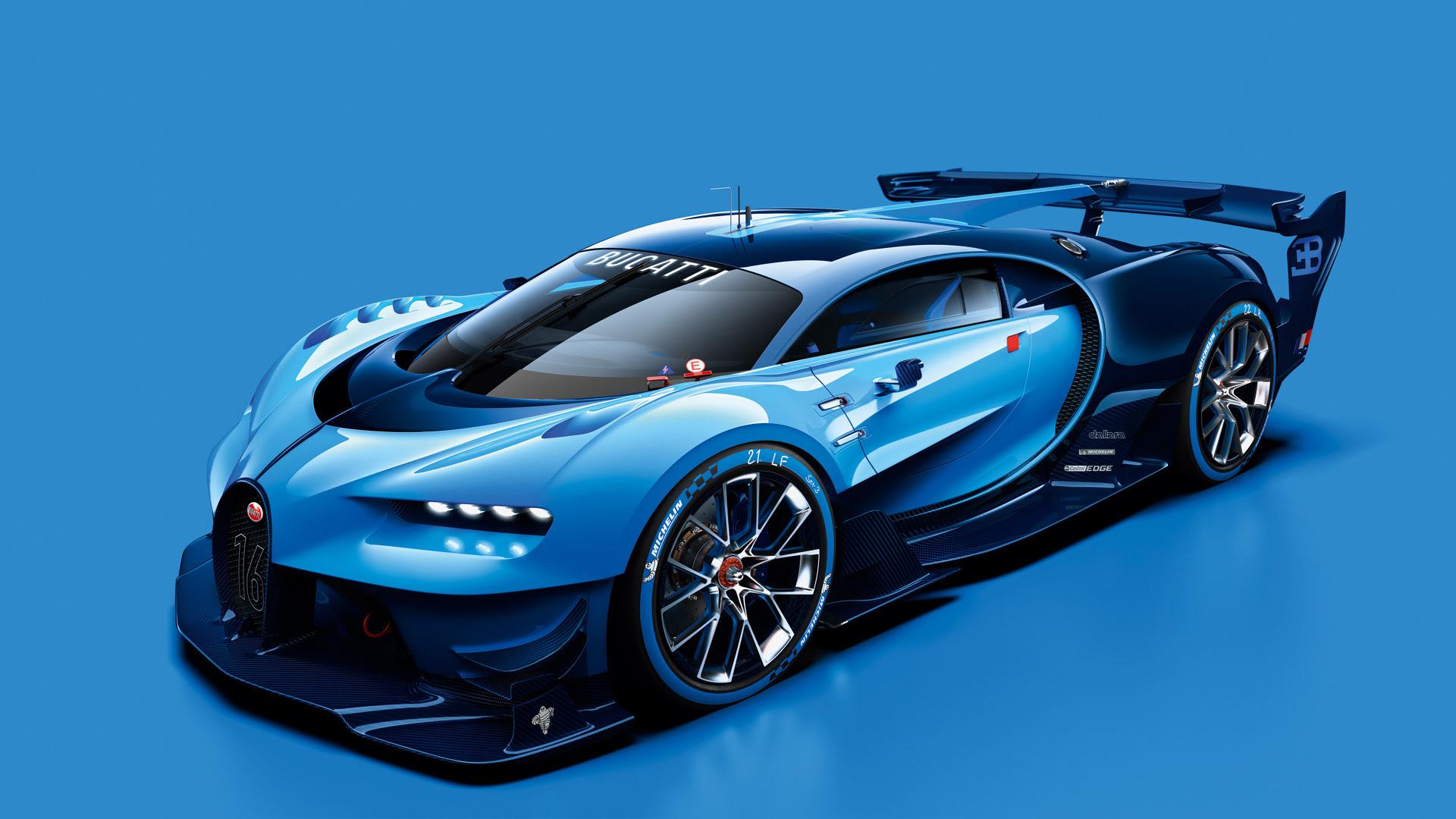 Bugatti Vision Gran Turismo Revealed, Previews Veyron Successor