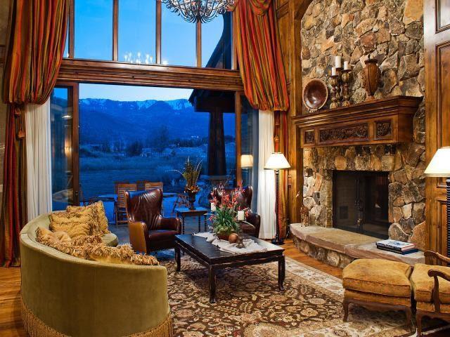 Park City Quarry Mountain Home - Contemporary - Living ...