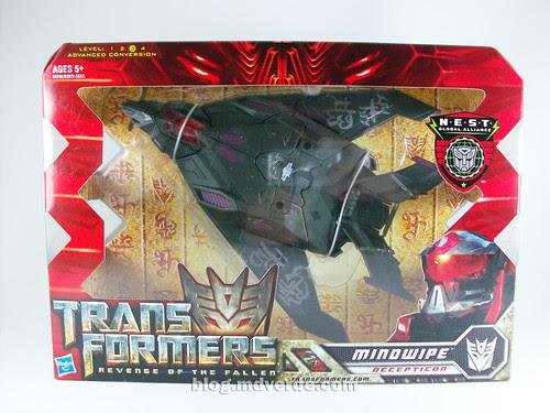Transformers Mindwipe RotF NEST Voyager - caja