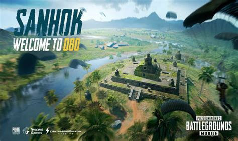 pubg mobile update time tencent reveal sanhok  release