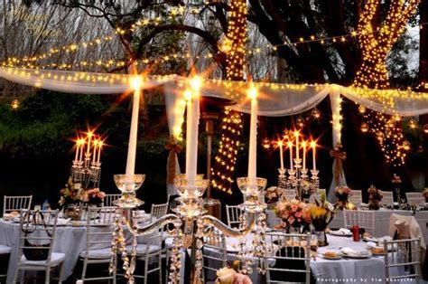 A 'Fairy Light Wonderland' Garden Wedding   Modern Wedding