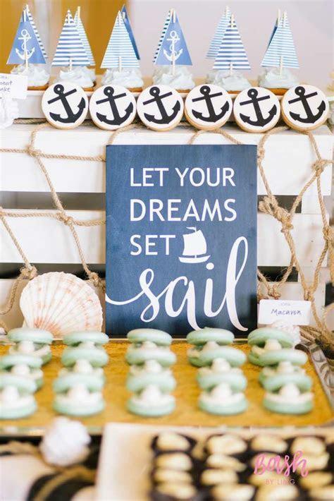 Modern Nautical Birthday Party   Birthday Party Ideas & Themes
