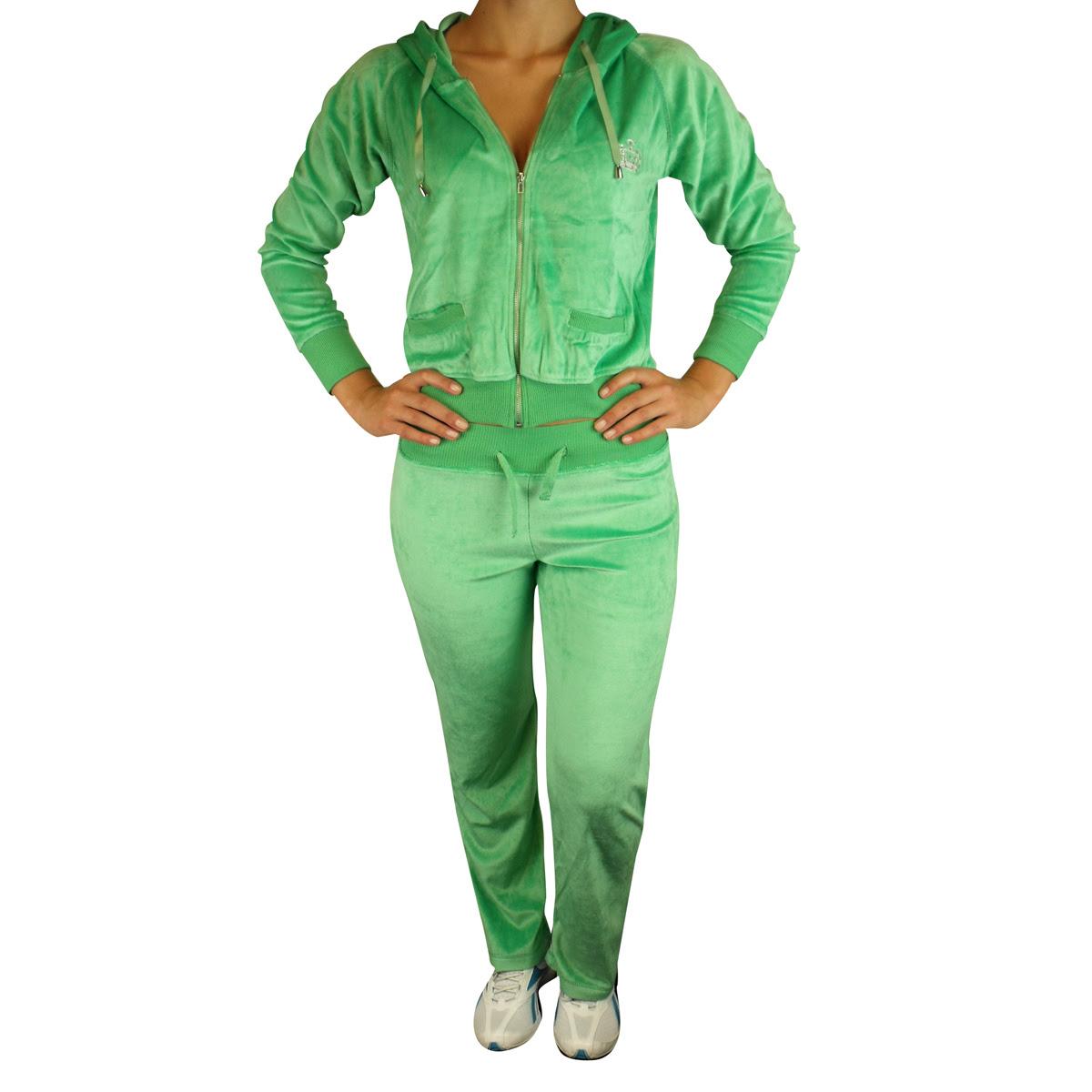 tracksuit women sexy full velour jogging hoody suit lounge