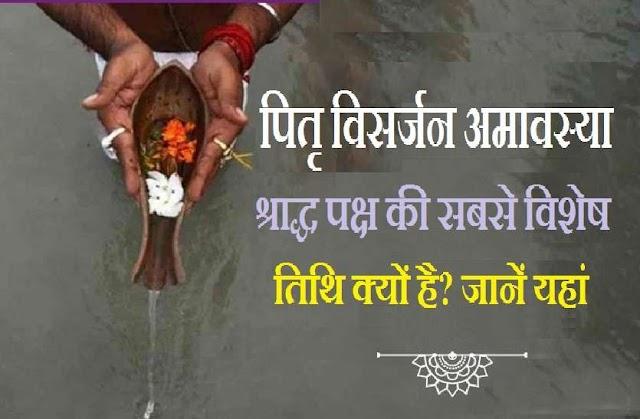 Ashwin Krishna Amavasya: सर्व पितृ अमावस्या के दिन पितर महालय भोजन से तृप्त होकर वापस जाते हैं अपने लोक