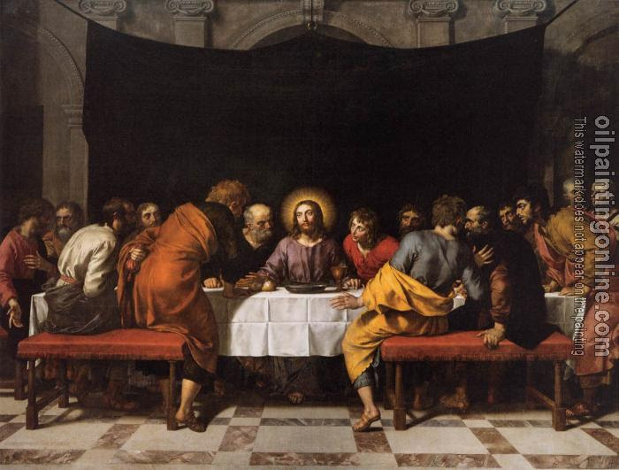 Pourbus Frans The Younger The Last Supper Canvas Painting For Sale
