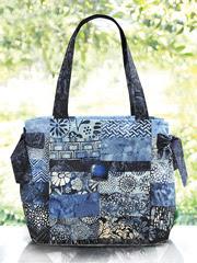 Hamptons Handbag Fabric and Snap Kit