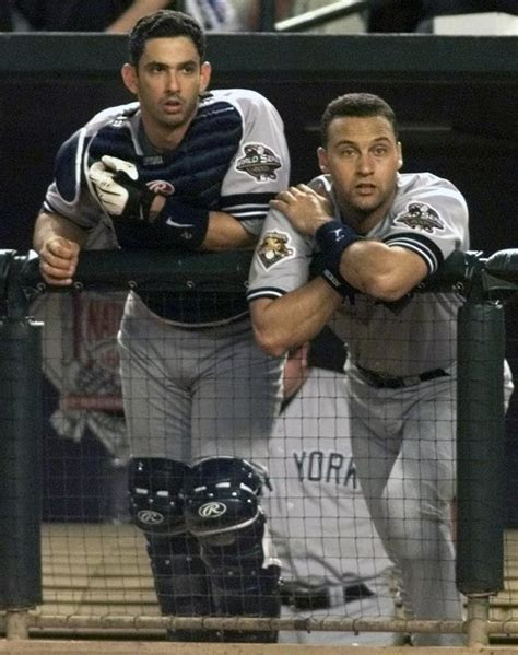 Posada may get the call up at Jeter wedding   NY Daily News