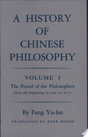 Read Online A History of Chinese Philosophy PDF
