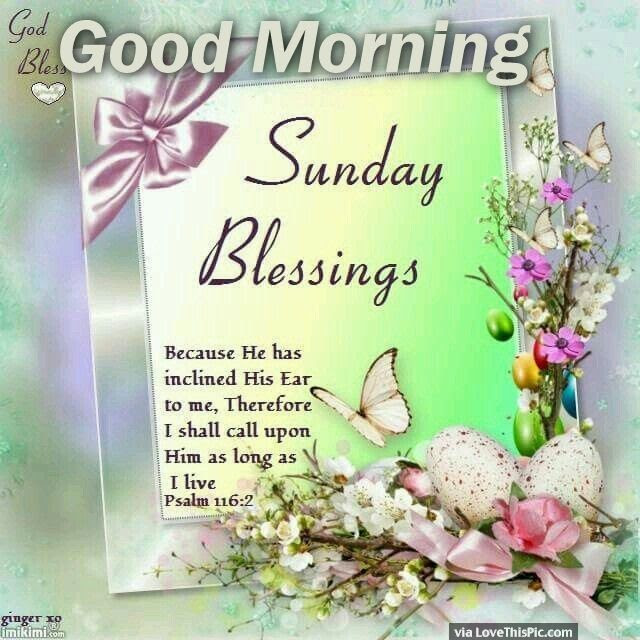 Sunday Blessings For You Good Morning Pictures Photos And Images