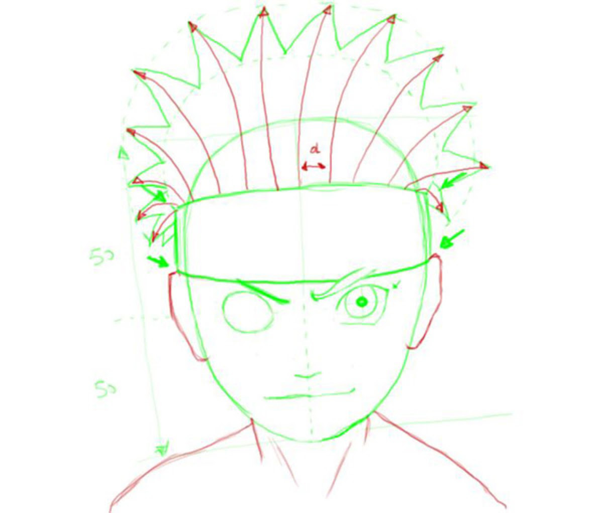 Learn To Draw Naruto Characters ~ Drawing and Painting