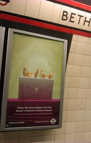 Diamond Jubilee Tube Ad by Annie Mole