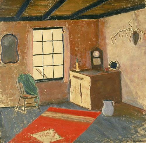 Mrs. M. M. Siebenthal: Interior, 1934 par americanartmuseum